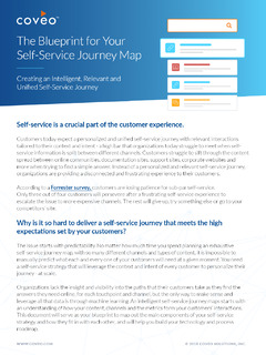 The Blueprint for Your Self-Service Journey Map