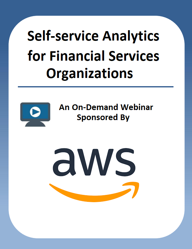 Self-service Analytics for Financial Services Organizations