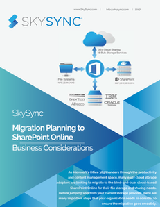 Migration Planning to SharePoint Online