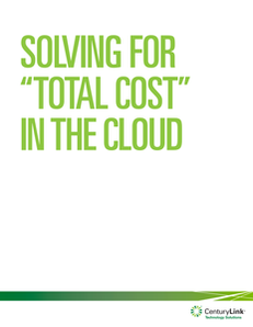 "Solving for ""Total Cost in the Cloud"""
