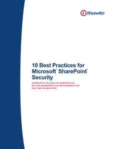 10 Best Practices for Microsoft SharePoint Security