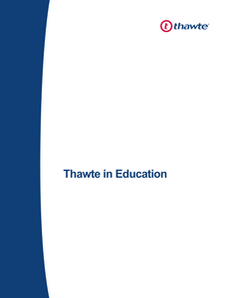 Thawte in Education