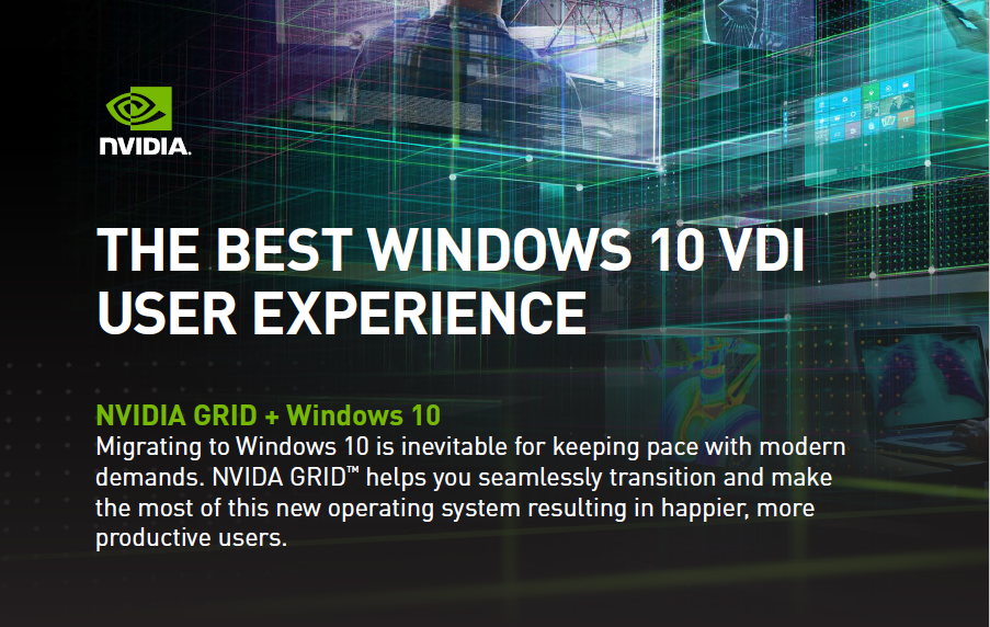 The Best Windows 10 Vdi User Experience