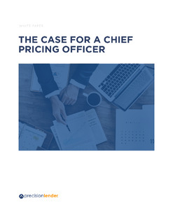 The Case for a Chief Pricing Officer