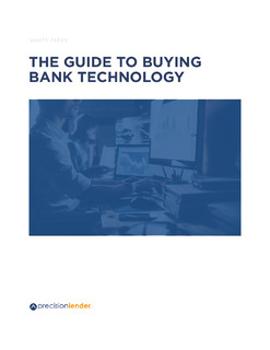 The Guide to Buying Bank Technology