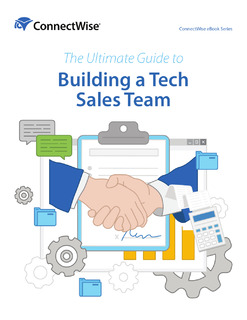 The Ultimate Guide to Building a Tech Sales Team