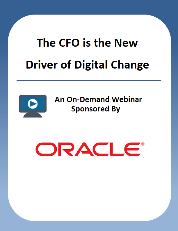 The CFO is the New Driver of Digital Change