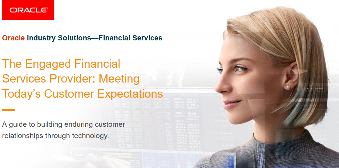 The Engaged Financial Services Provider: Meeting Today's Customer Expectations
