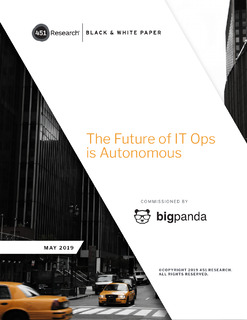 The Future of IT Ops is Autonomous