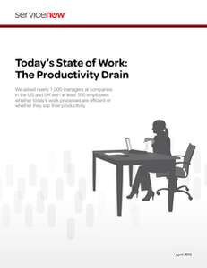 Todays State of Work: The Productivity Drain