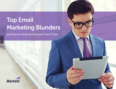 Top Email Marketing Blunders and How to Avoid (and Recover From) Them