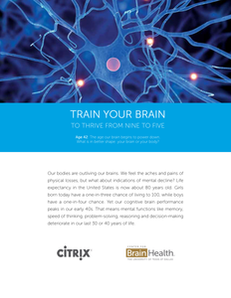 Training Your Brain to Thrive from 9 to 5