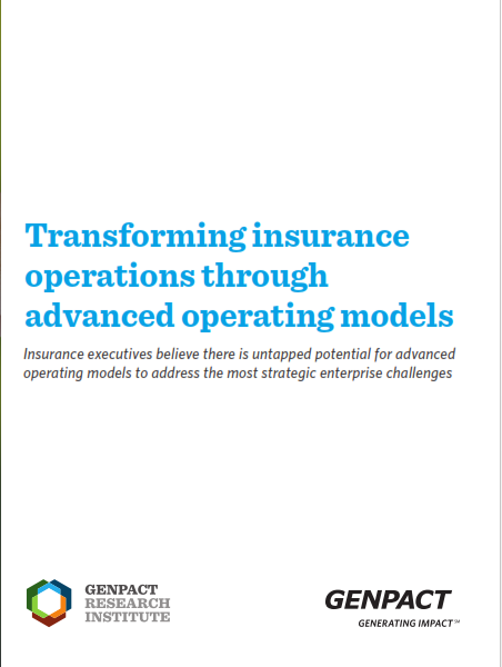 Transforming Insurance Operations Through Advanced Operating Models