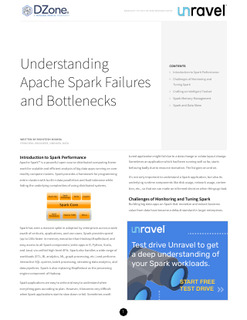 Understanding Apache Spark Failures and Bottlenecks