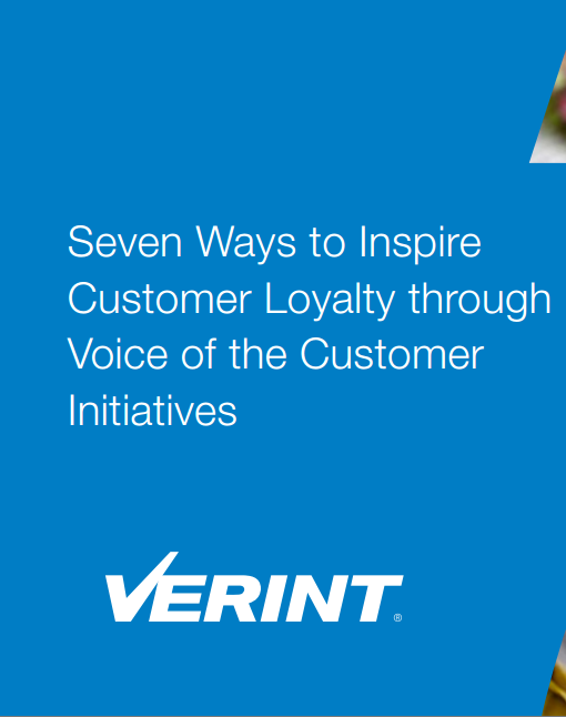 Seven Ways to Inspire Customer Loyalty through Voice of the Customer Initiatives