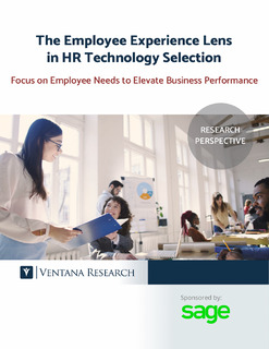 The Employee Experience Lens in HR Technology Selection