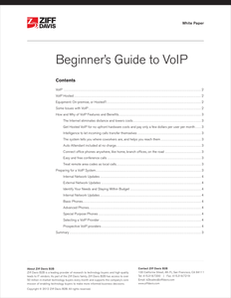 Beginner's Guide to VoIP
