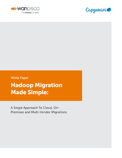 Hadoop Migration Made Simple