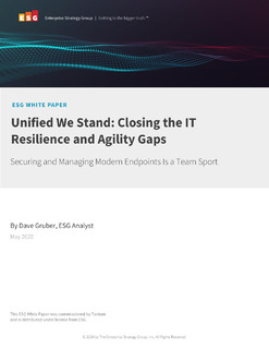 ESG Analyst Paper: Closing the IT Resilience and Agility Gap