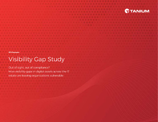 IT Visibility Gap Study: How Vulnerable Is Your IT Estate?