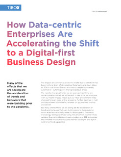 The Future of Retail: Accelerating the Shift to a Digital-first Business Design