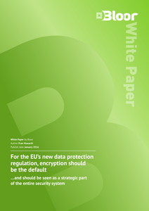 For the EU's New Data Protection Regulation, Encryption Should be the Default