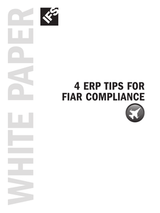 4 ERP Tips for FIAR Compliance