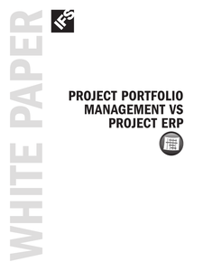 Project Portfolio Management (PPM) vs ERP Software