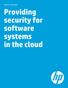 Providing Security for Software Systems in the Cloud