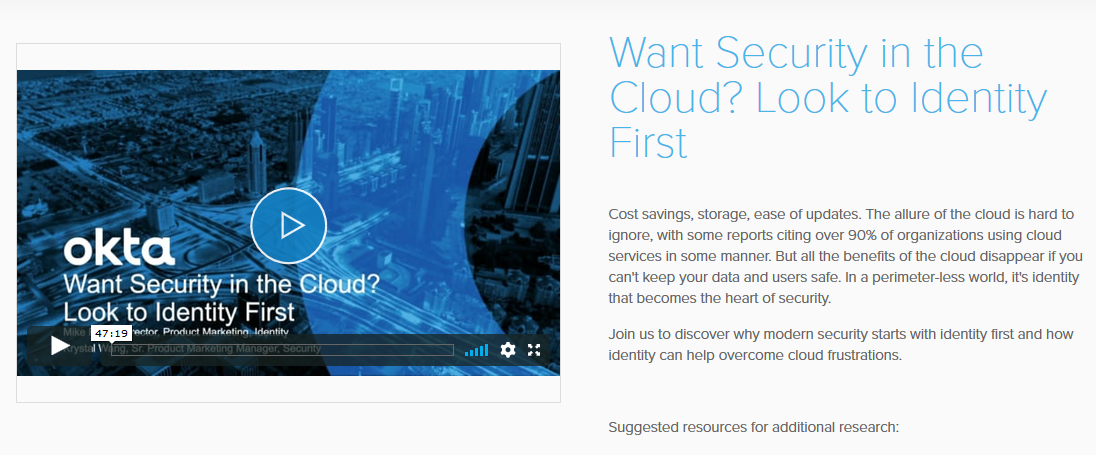 Want Security in the Cloud? Look to Identity First