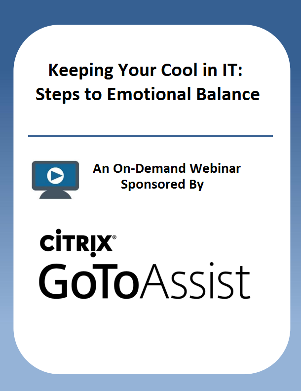 Keeping Your Cool in a Support Center: Steps to Emotional Balance