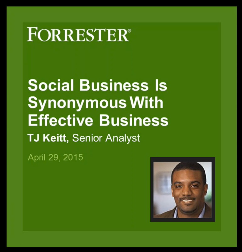 Findings from Forrester's Analyst Report: The Social CIO