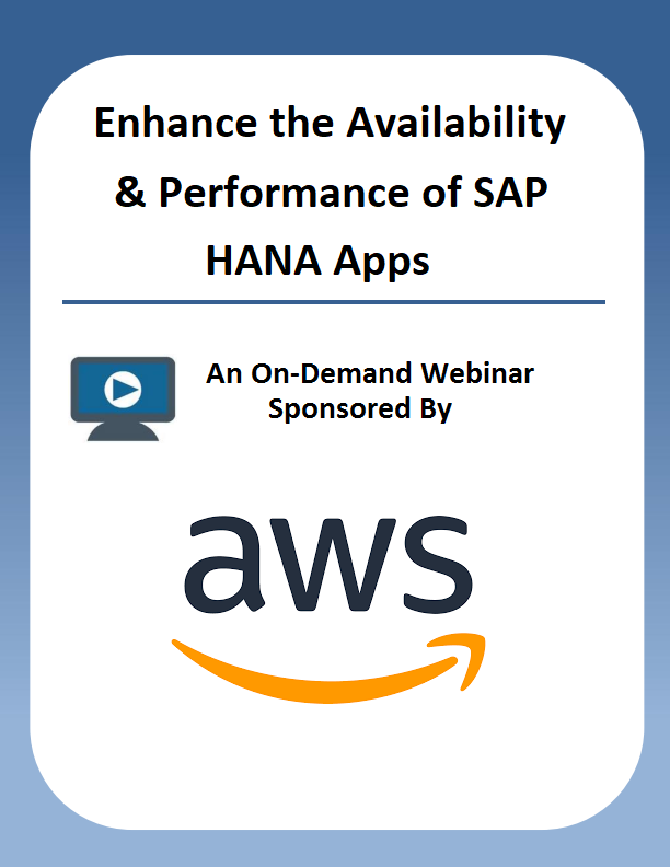 Enhance the Availability & Performance of SAP HANA Apps