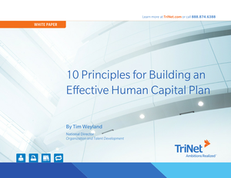 10 Principles for Building an Effective Human Capital Plan