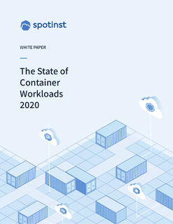 The State of Container Workloads 2020