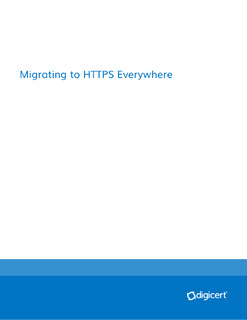 Migrating to HTTPS Everywhere