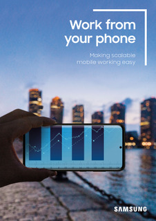 Work From Your Phone: Making Scalable Mobile Working Easy