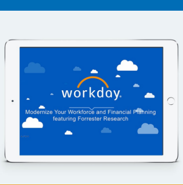 Modernize Your Workforce and Financial Planning featuring Forrester Research