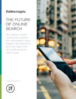 The Future of Online Search