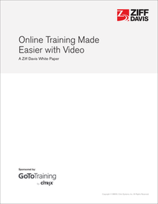 Online Training Made Easier with Video