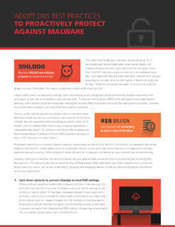 Adopt DNS Best Practices to Proactively Protect Against Malware