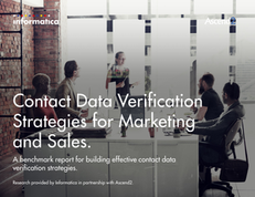 Contact Data Verification Strategies for Marketing and Sales