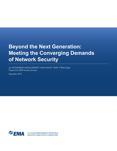 Beyond the Next Generation: Meeting the Converging Demands of Network Security