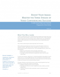 Boost Your Image: Master the Three Stages of Video Conferencing Success