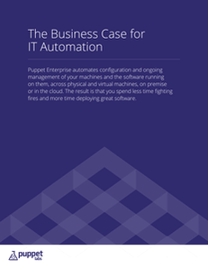 The Business Case for IT Automation