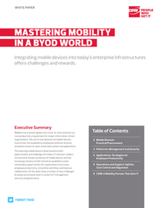 Mastering Mobility in a BYOD World