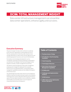 DCIM: Total Management Insight