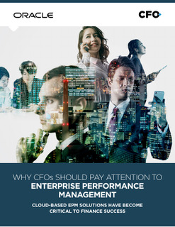 Why CFOs Should Pay Attention to Enterprise Performance Management