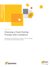 Choosing a Cloud Provider with Confidence