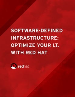Software-Defined Infrastructure: Optimize Your IT with Red Hat